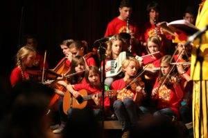 """""""Naftule und die Kinder"""", DRP, Pierre Hoppé, Helmut Eisel, Kinderorchester der Freien Waldorfschule SB, Roland Kunz"""